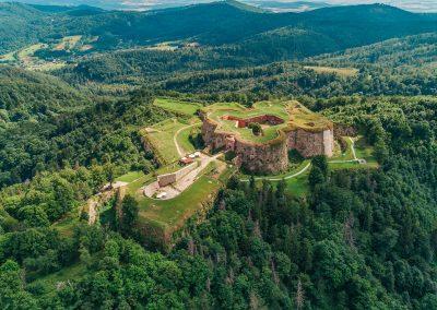 6. Pevnost Stříbrná hora